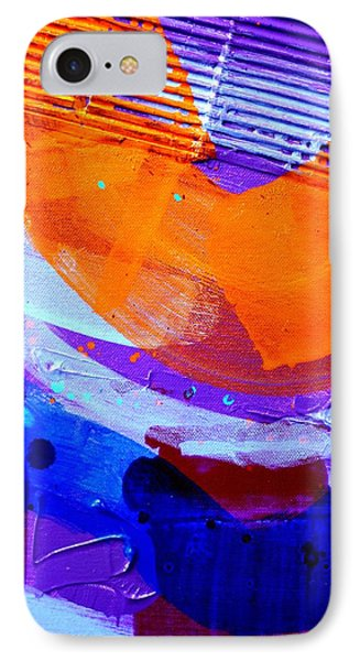 Abstract  19614 Cropped I  IPhone Case by John  Nolan