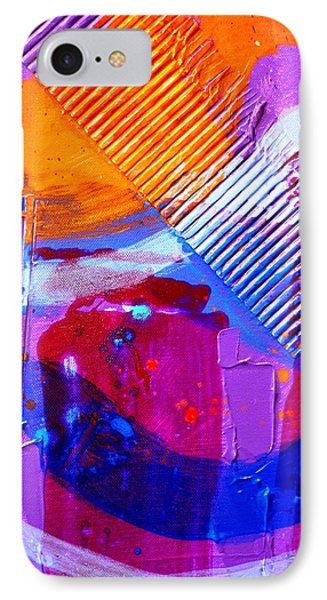 Abstract  19614 Cropped IIi IPhone Case by John  Nolan