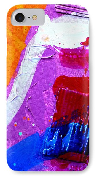 Abstract  19614 Cropped Vi IPhone Case by John  Nolan