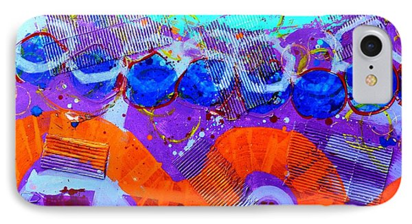 Abstract  19614 IPhone Case by John  Nolan