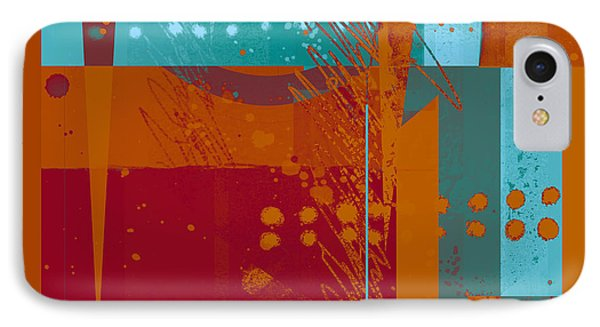 Abstract 203 Phone Case by Ann Powell