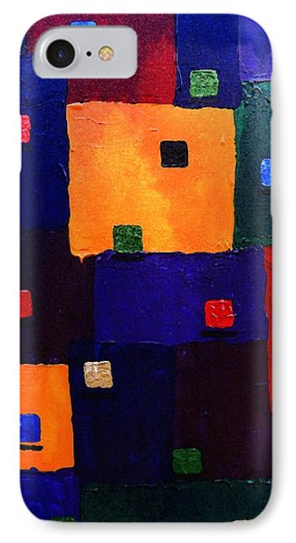 Abstract 29e IPhone Case by Timothy Bulone