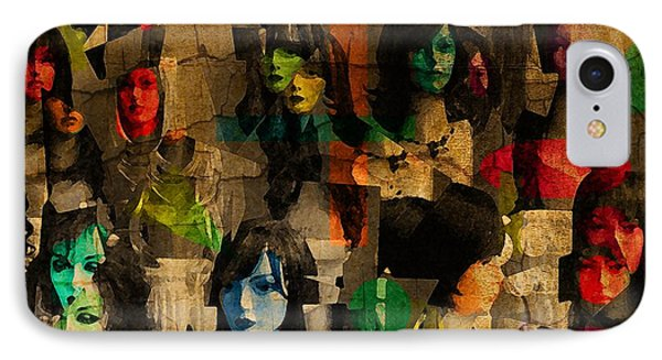 IPhone Case featuring the photograph Abstract 39a by Timothy Bulone