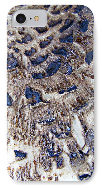 Abstract Accidental Sapphires Phone Case by Linsey Williams