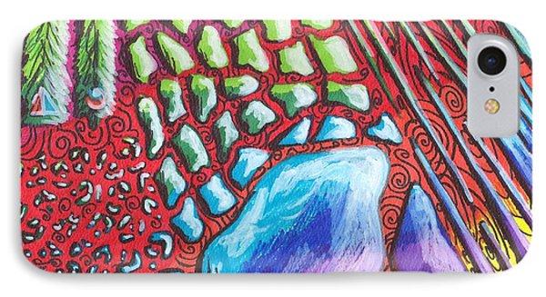 Abstract Animal Print Phone Case by Shana Rowe Jackson