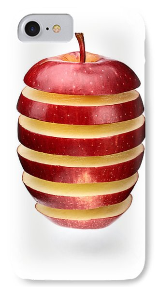 Abstract Apple Slices Phone Case by Johan Swanepoel