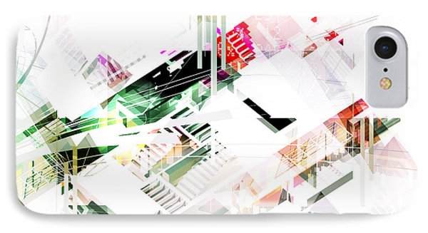 Abstract Architecture Space IPhone Case by Shivendu Jauhari