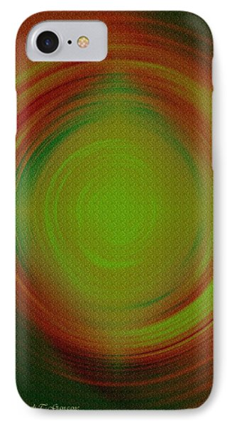 Abstract Art 3 IPhone Case by Sonali Gangane