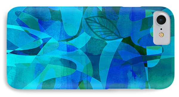 abstract - art- Blue for You Phone Case by Ann Powell