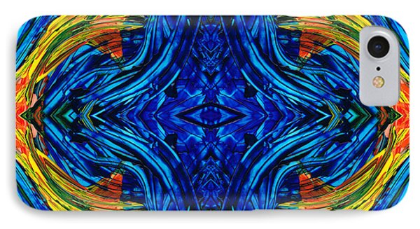 Abstract Art - Center Point - By Sharon Cummings IPhone Case