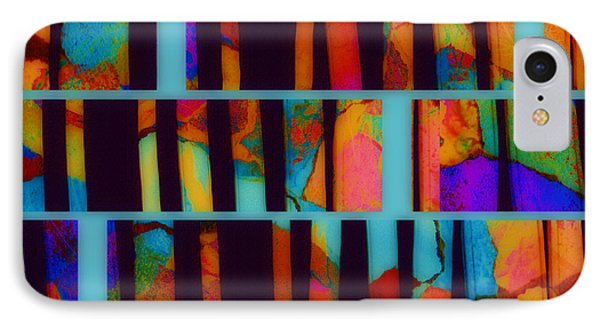abstract - art- Color Pop  IPhone Case by Ann Powell