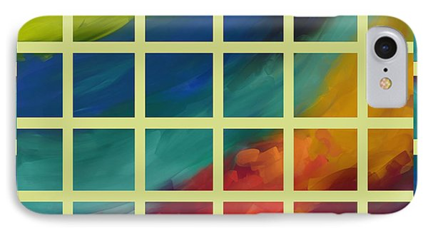 abstract - art- Color Study One IPhone Case