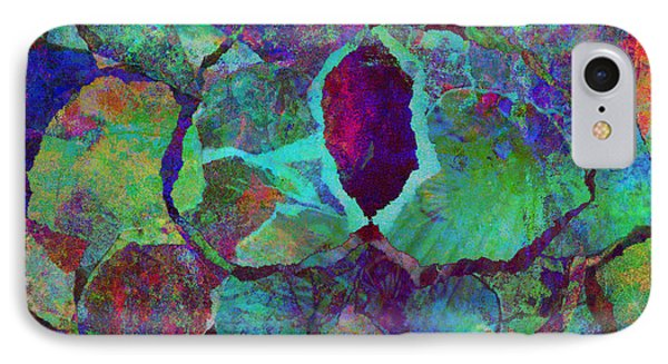 Abstract Art Colorful Collage Phone Case by Ann Powell