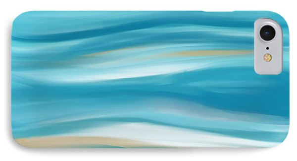 abstract - art-  Contemplation  Phone Case by Ann Powell