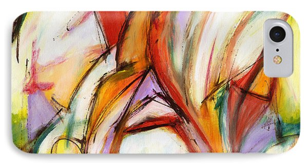 Abstract Art Forty-five IPhone Case