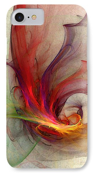 Abstract Art Print Sign IPhone Case