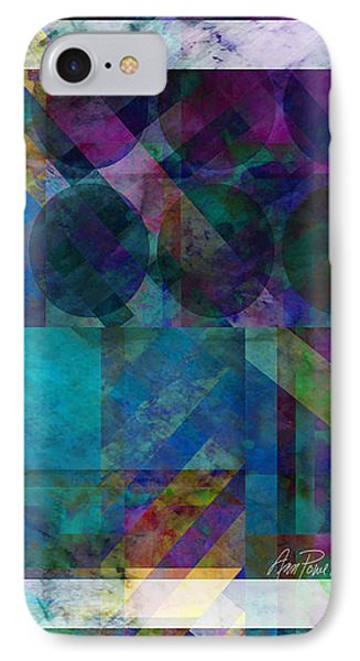 abstract - art - Stripes Five  Phone Case by Ann Powell