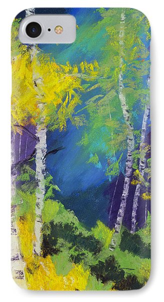 Abstract Aspens Phone Case by Dana Strotheide