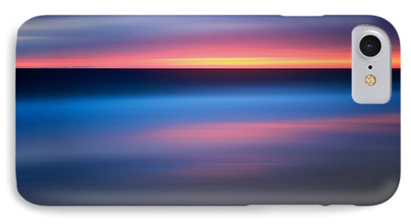 Abstract Beach Sunset IPhone Case by Katherine Gendreau