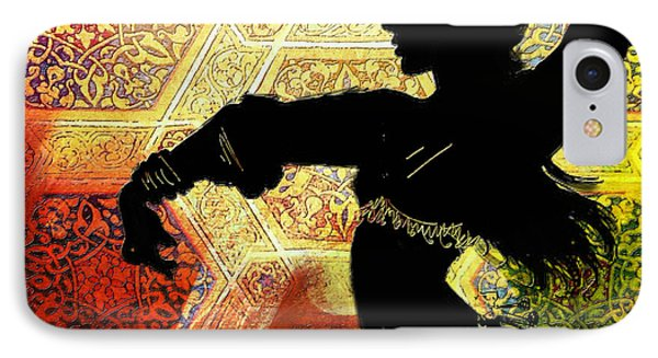 Abstract Belly Dancer 3 IPhone Case