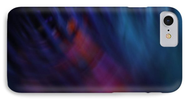 Abstract Blue Red Green Diagonal Blur Phone Case by Marvin Spates