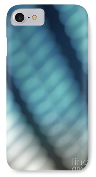 Abstract Blue Reflections Phone Case by Amy Cicconi