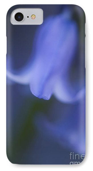 Abstract Bluebell Phone Case by Anne Gilbert