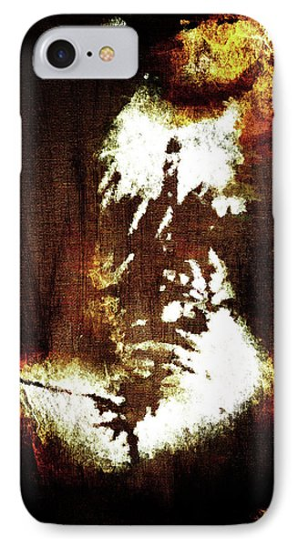 Abstract Body IPhone Case by Andrea Barbieri