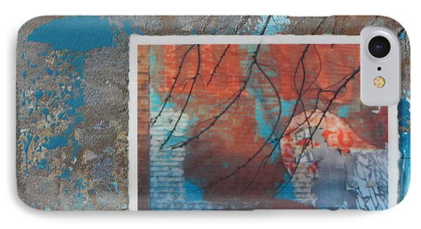 Abstract Branch Collage Phone Case by Anita Burgermeister