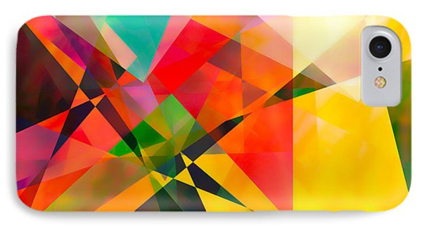 IPhone Case featuring the digital art Abstract by Bruce Rolff