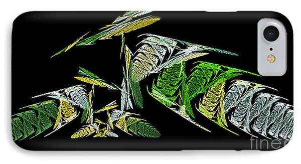 Abstract Bugs Life Horizontal IPhone Case by Andee Design