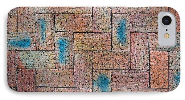 Abstract Burnt Bricks IPhone Case by Jozef Jankola