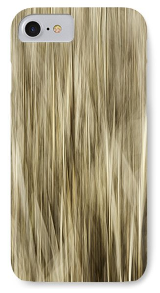 Abstract Cattails Phone Case by Thomas Young