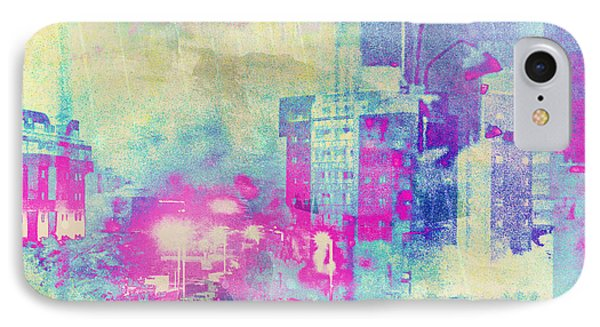 Abstract City Phone Case by Mark-Meir Paluksht