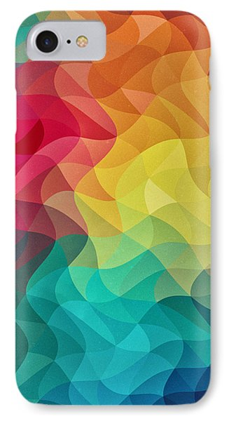 Abstract Color Wave Flash IPhone Case by Philipp Rietz
