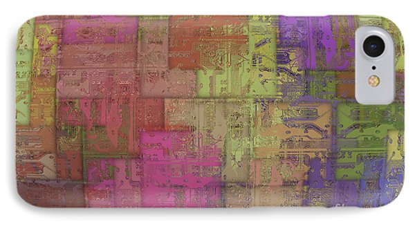 Printed Circuit IPhone Case by Michal Boubin
