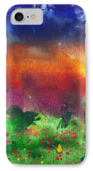 Abstract - Crayon - Utopia Phone Case by Mike Savad