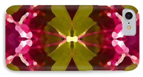 Abstract Crystal Butterfly Phone Case by Amy Vangsgard