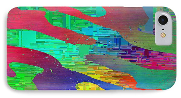 Abstract Cubed 9 IPhone Case by Tim Allen