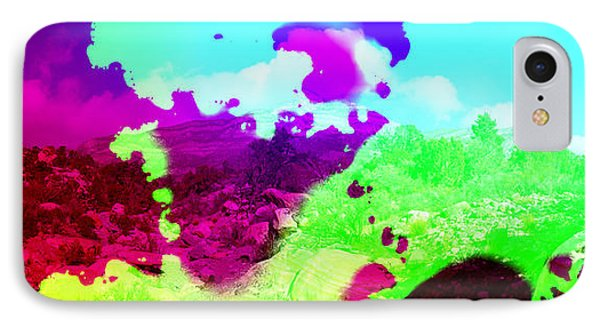Abstract Desert Scene Phone Case by Alan and Marcia Socolik