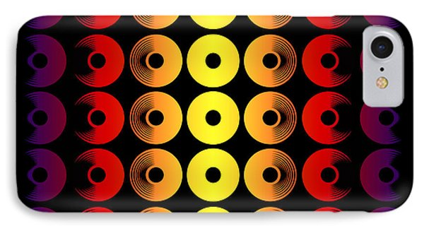 Abstract Discs Of Pottery IPhone Case