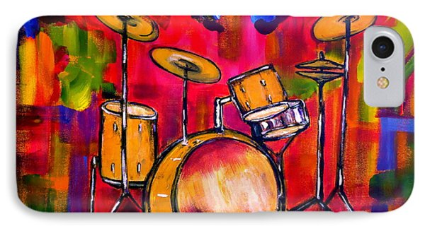 Abstract Drums II Phone Case by Pete Maier
