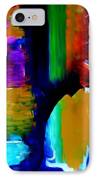 Abstract Du Colour IPhone Case by Lisa Kaiser
