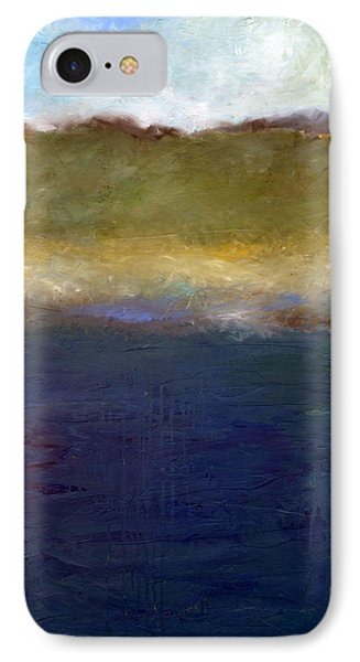 Abstract Dunes Ll IPhone Case by Michelle Calkins