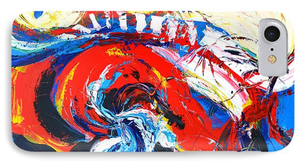 Abstract Expressionism No. 2 IPhone Case by Patricia Awapara