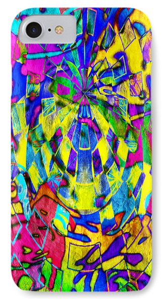Abstract Faces IPhone Case by Andee Design