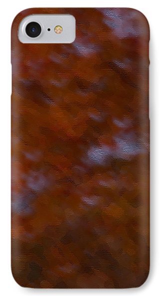 IPhone Case featuring the photograph Abstract Fall Colors by Haren Images- Kriss Haren