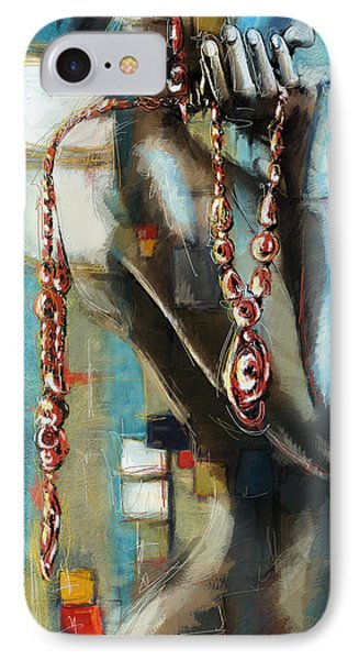 Abstract Figure Work Phone Case by Catf