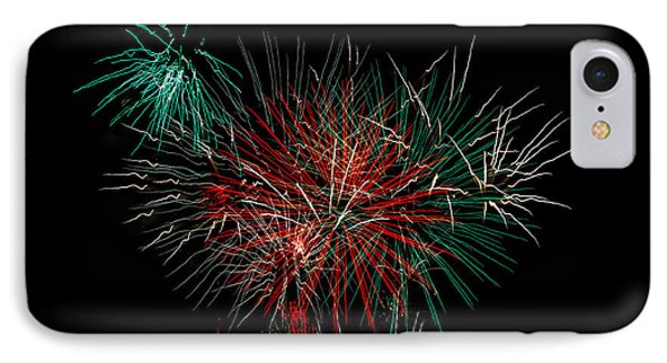 Abstract Fireworks Phone Case by Robert Bales