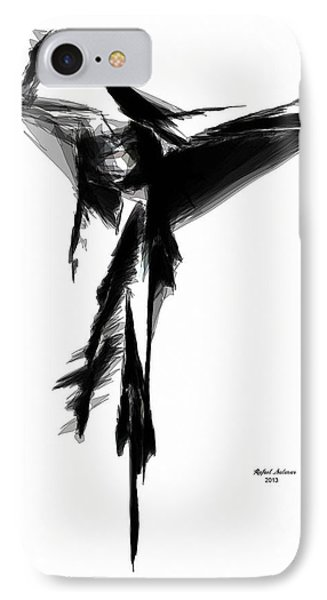 Abstract Flamenco IPhone Case by Rafael Salazar